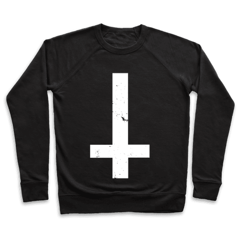 Upside Down Cross Pullover