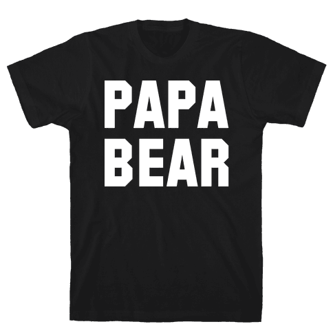 Papa Bear Mens T-Shirt
