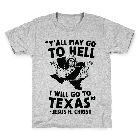 Texas Jesus Kids T-Shirt