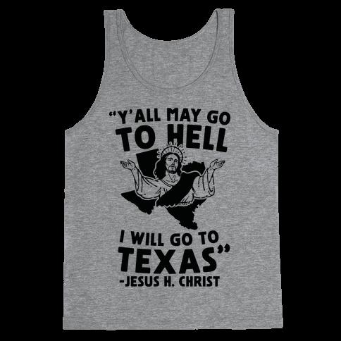 Texas Jesus Tank