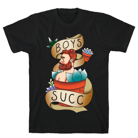 Boys Succ Mens T-Shirt
