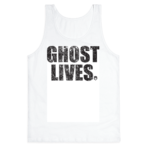 Ghost Lives Tank Top