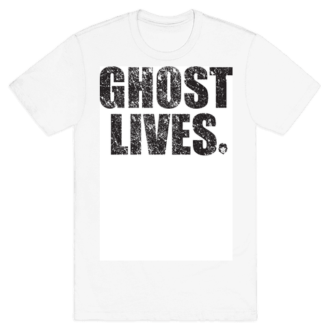 Ghost Lives Mens T-Shirt