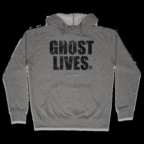 Ghost Lives Hooded Sweatshirt