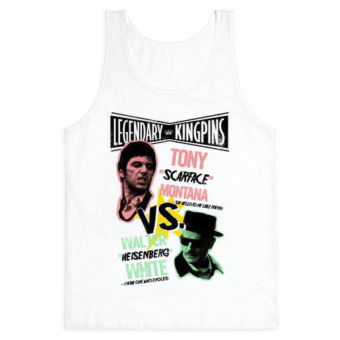 King Pin Faceoff Tank Top