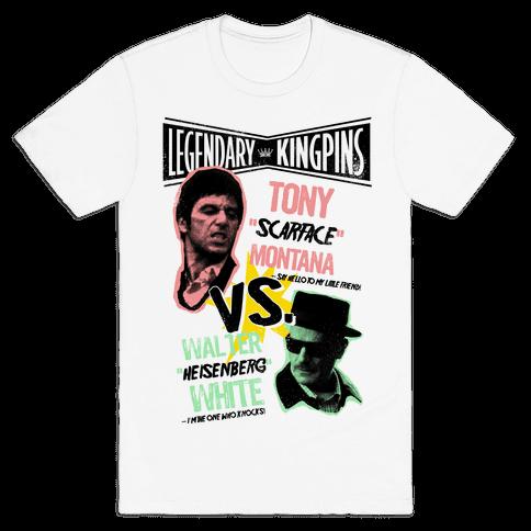 King Pin Faceoff Mens T-Shirt
