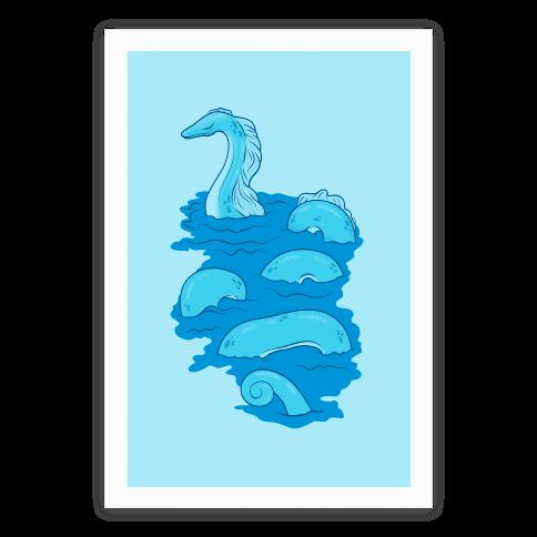 Loch Ness Lagoon Poster