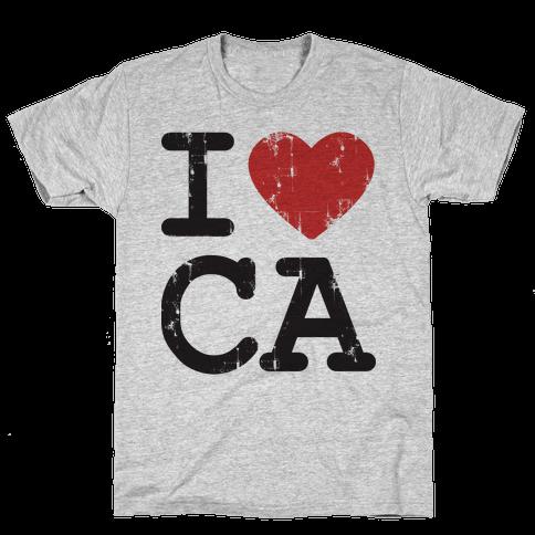 I love California Mens T-Shirt