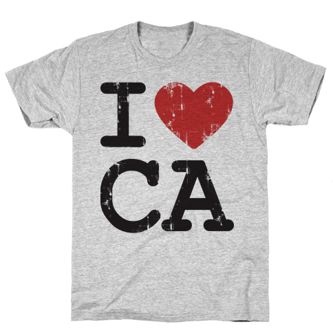 I love California Mens T-Shirt