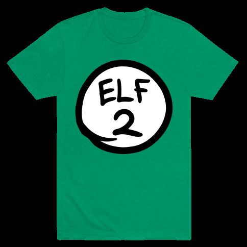 Elf Two Mens T-Shirt