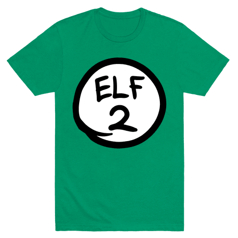 Elf Two Mens T-Shirt