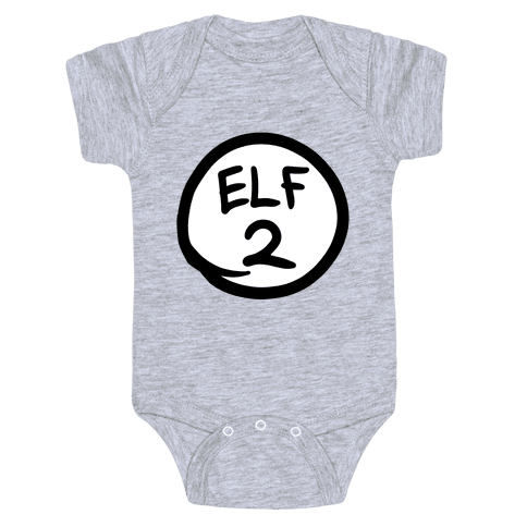 Elf Two Baby Onesy