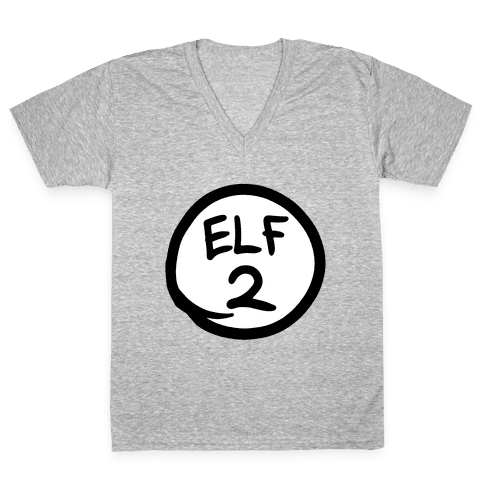 Elf Two V-Neck Tee Shirt