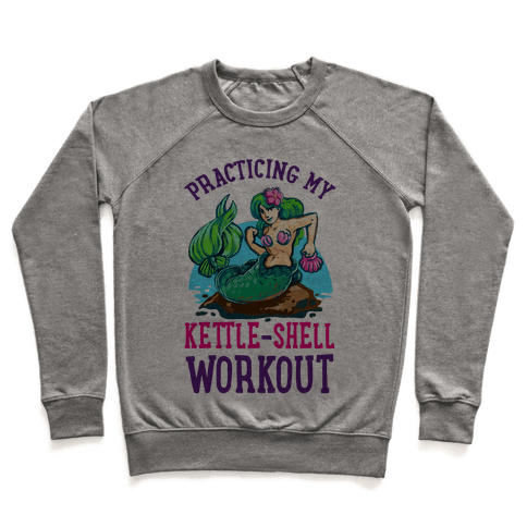 Practicing My Kettle-Shell Workout! Pullover
