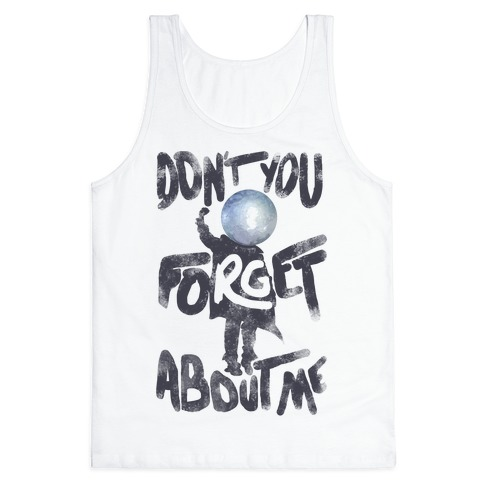 Pluto Don't You Forget About Me Tank Top