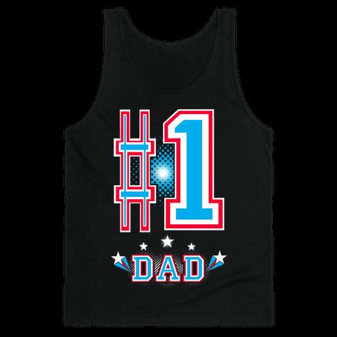 #1 DAD Tank Top