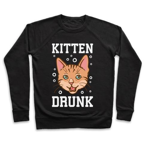 Kitten Drunk Pullover