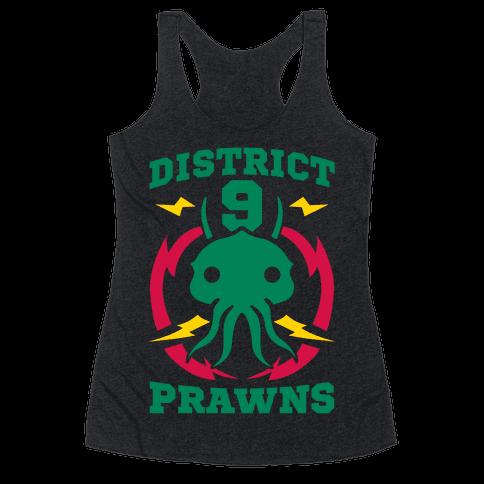 District 9 Prawns Racerback Tank Top