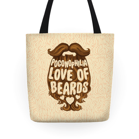 Pogonophilia: The Love Of Beards Tote