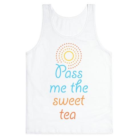 Pass Me The Sweet Tea Tank Top