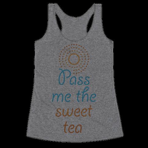 Pass Me The Sweet Tea Racerback Tank Top