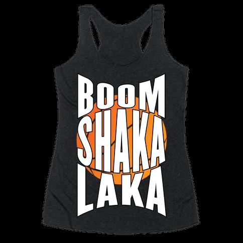 Boom Shaka Laka! Racerback Tank Top