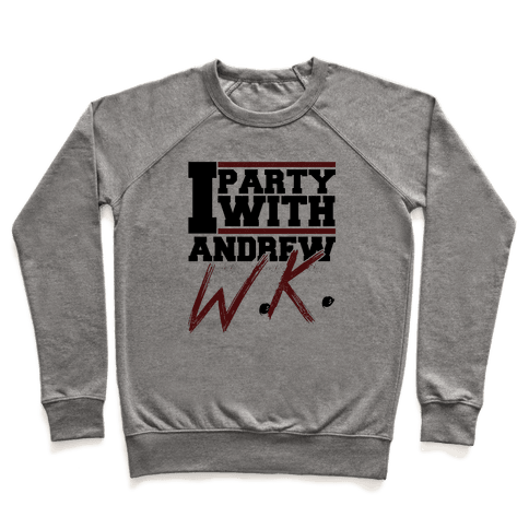 Party with Andrew Pullover