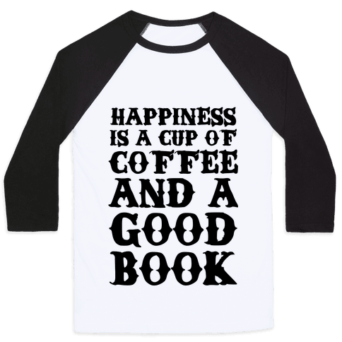 Happiness Definition Baseball Tee