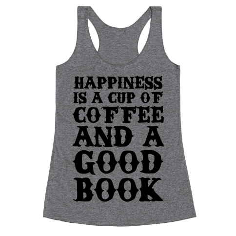 Happiness Definition Racerback Tank Top