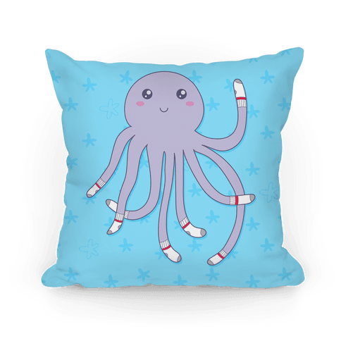 Socktopus Pillow