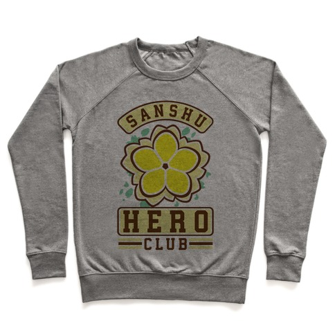 Sanshu Hero Club Fu Pullover