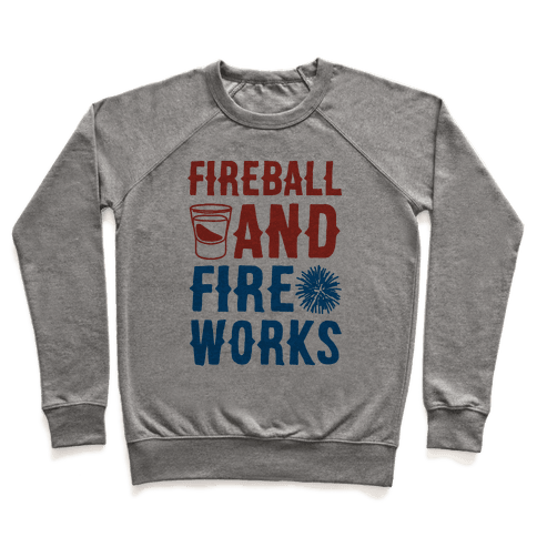 Fireball and Fire Works  Pullover