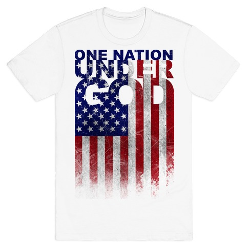 One Nation Under God Mens T-Shirt