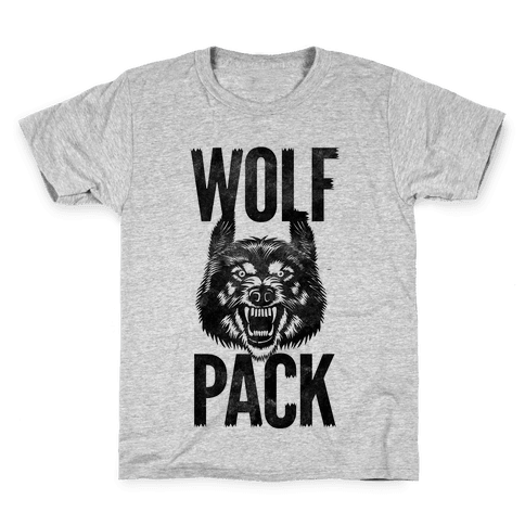 Wolf Pack Kids T-Shirt