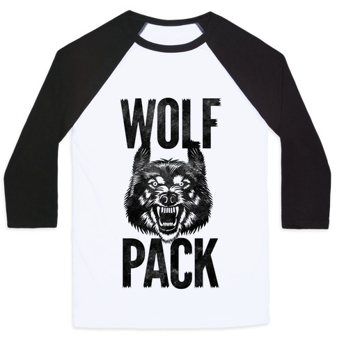 Wolf Pack Baseball Tee