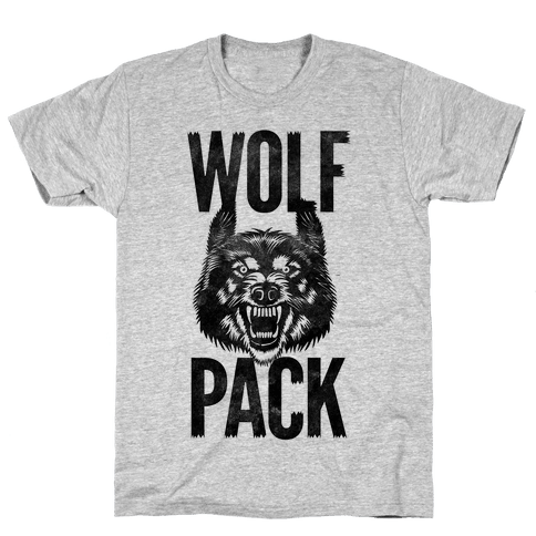 Wolf Pack Mens T-Shirt
