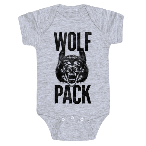 Wolf Pack Baby Onesy