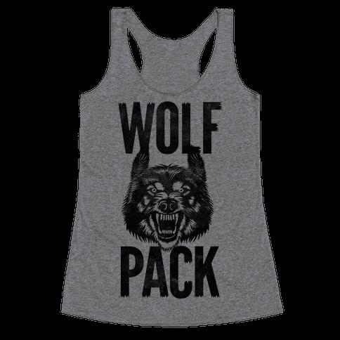 Wolf Pack Racerback Tank Top