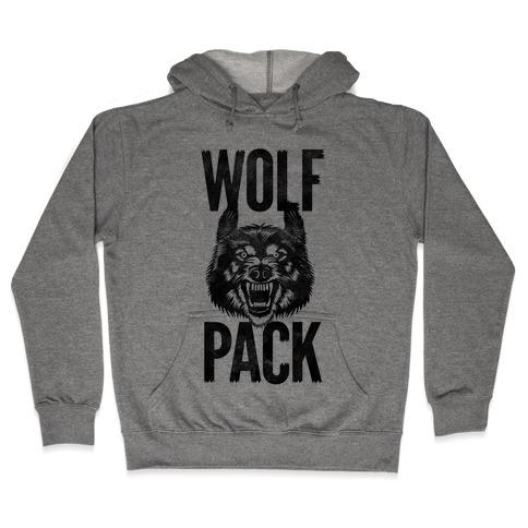 Wolf Pack Hooded Sweatshirt
