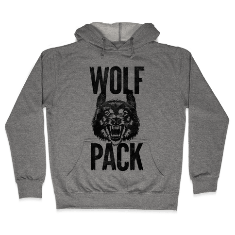 Wolf Pack Hooded Sweatshirt