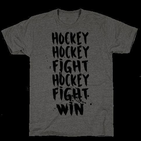 Hockey Hockey Fight Hockey Fight Win