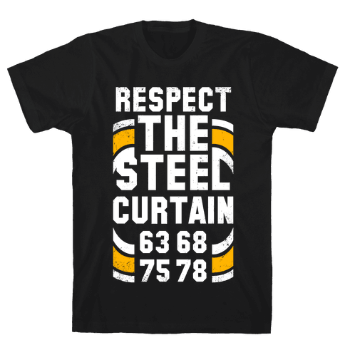 Steel Curtain (Vintage) Mens T-Shirt