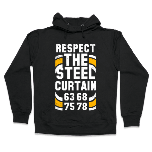 Steel Curtain (Vintage) Hooded Sweatshirt