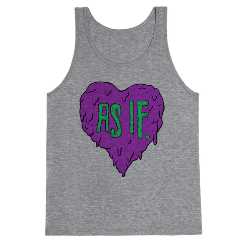 As If Heart Tank Top