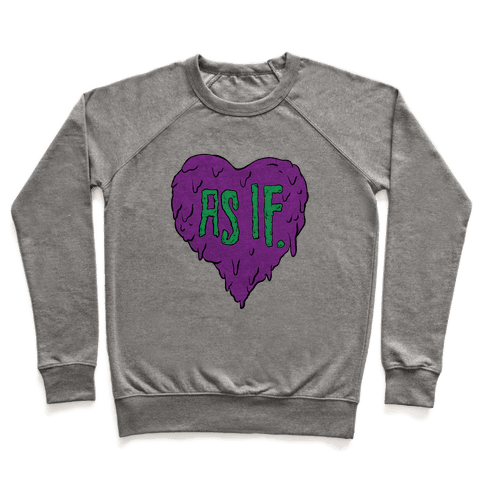 As If Heart Pullover