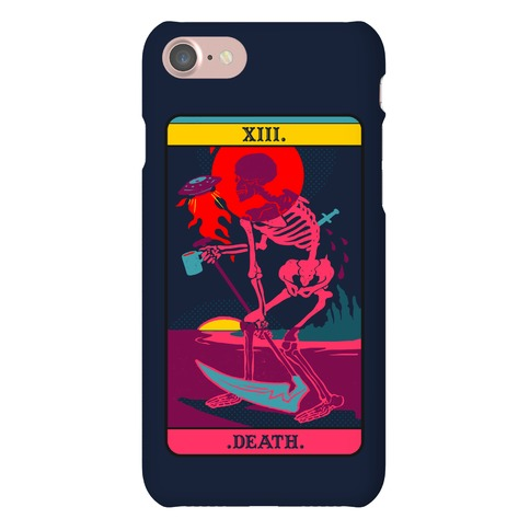 Death Tarot Card Phone Case