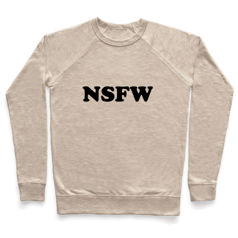 NSFW Pullover
