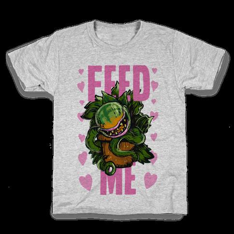 Feed Me!- Audrey II Kids T-Shirt