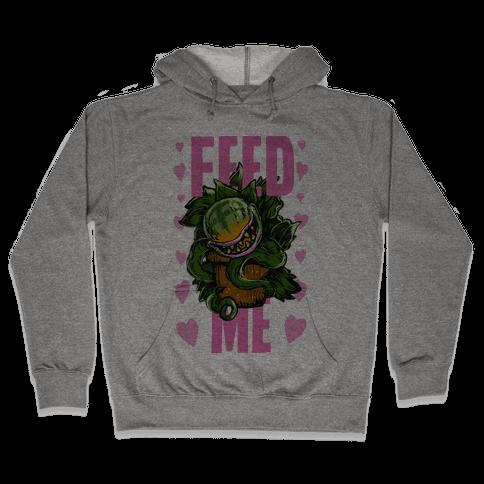 Feed Me!- Audrey II Hooded Sweatshirt