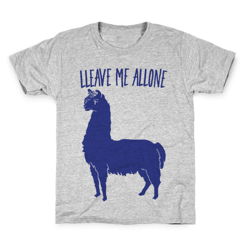Leave Me Alone Llama Kids T-Shirt
